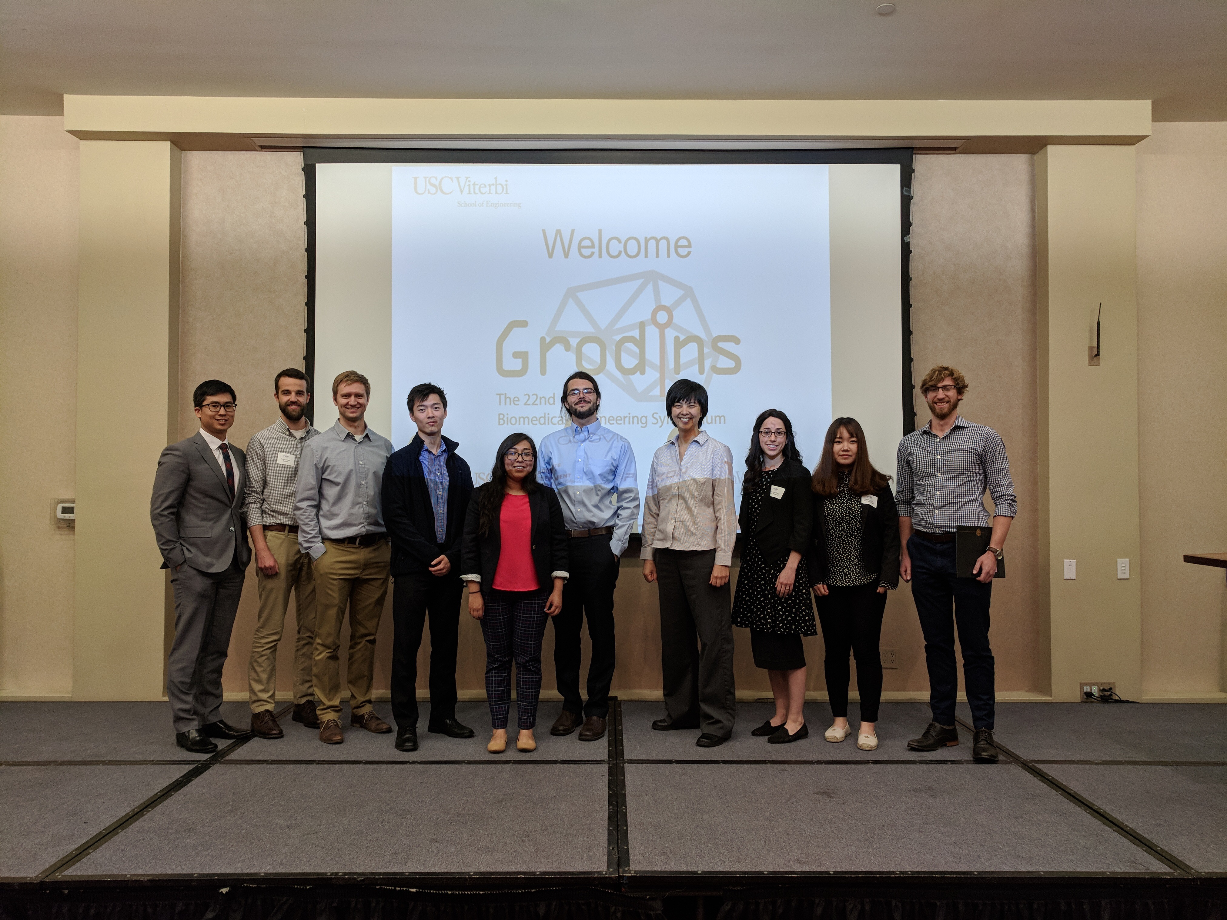 BioMEMS Lab at Grodins Research Symposium 2018